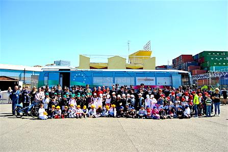 Aero Club di Genova, bambini, sole, volo e Polstrada