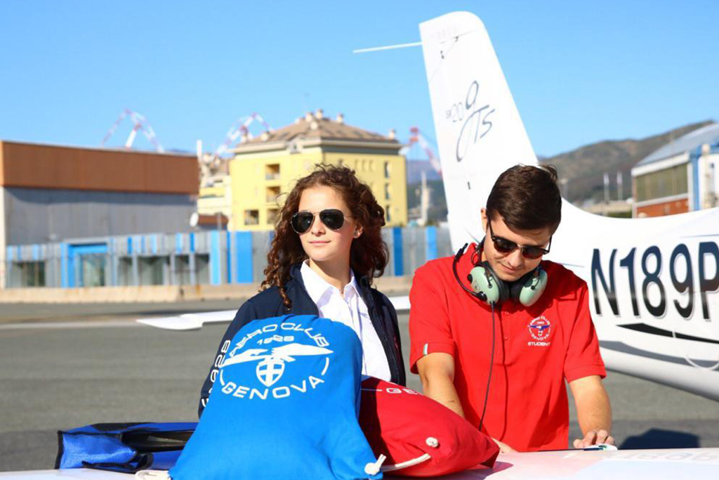 Aero Club di Genova presenta il proprio Official Club Wear
