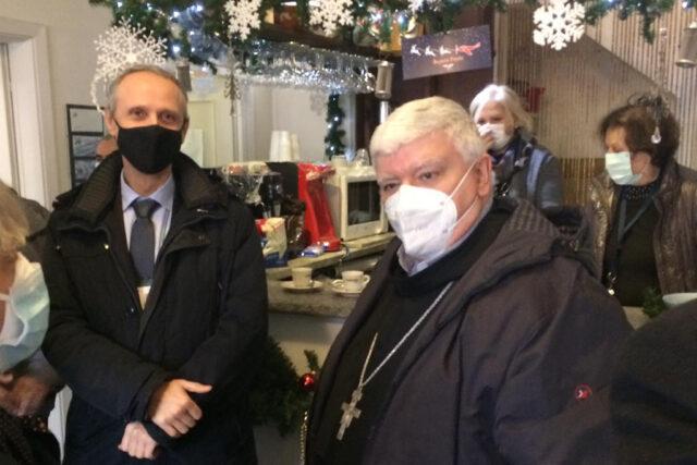 Monsignor Marco Tasca in visita al nostro Aero Club